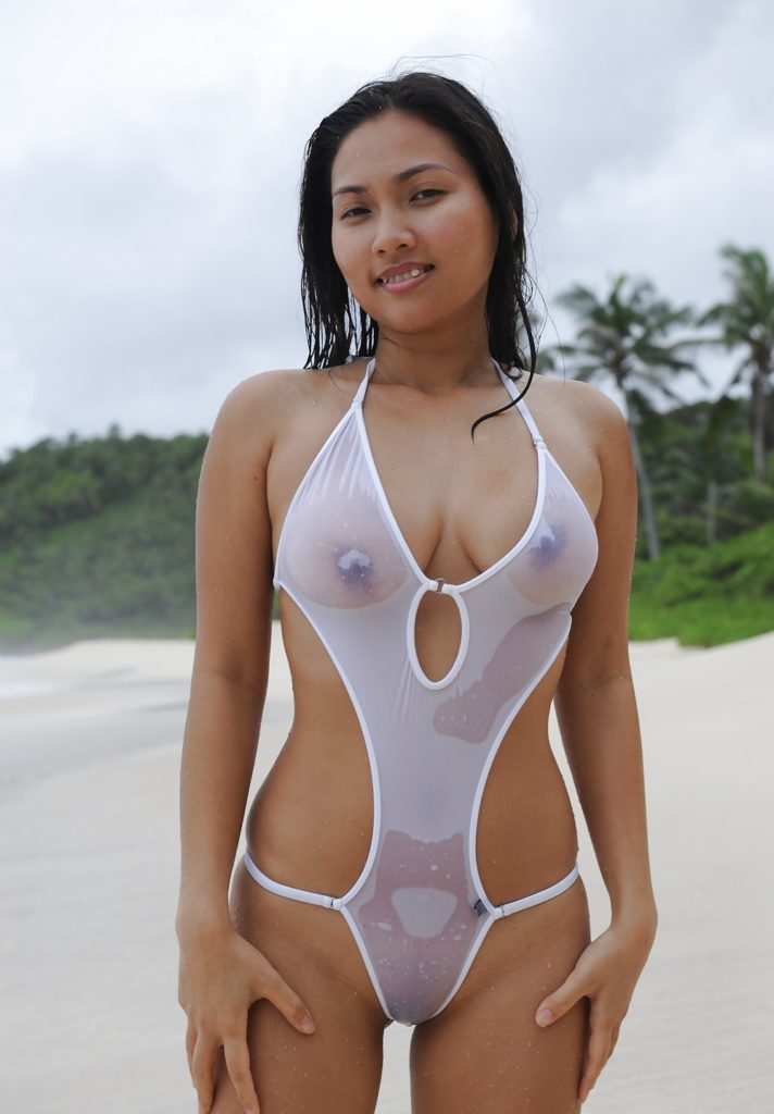 asian see through 1 piece.