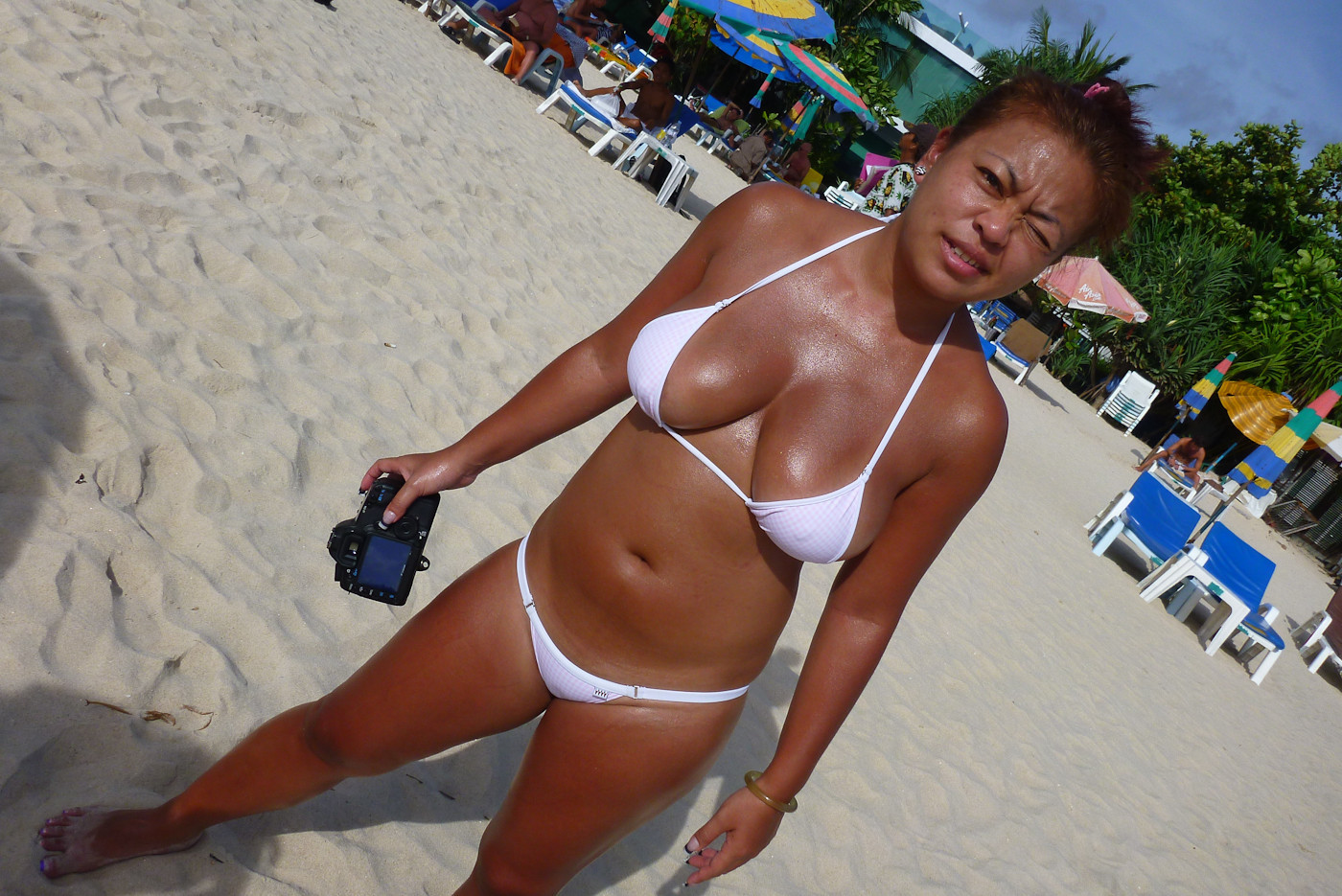 cute asian girl with big tits