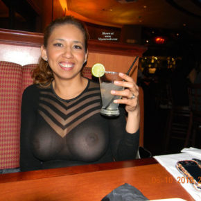 see through top at dinner